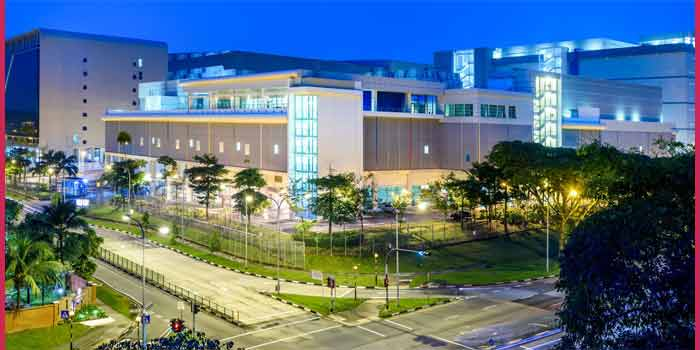 Google Data Center in Singapore